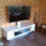 Wohnwand auf Maß Fernseher