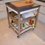 Küche maßgeschneidert Servierwagen