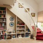 Einbauschrank unter Treppe auf Maß gefertigt