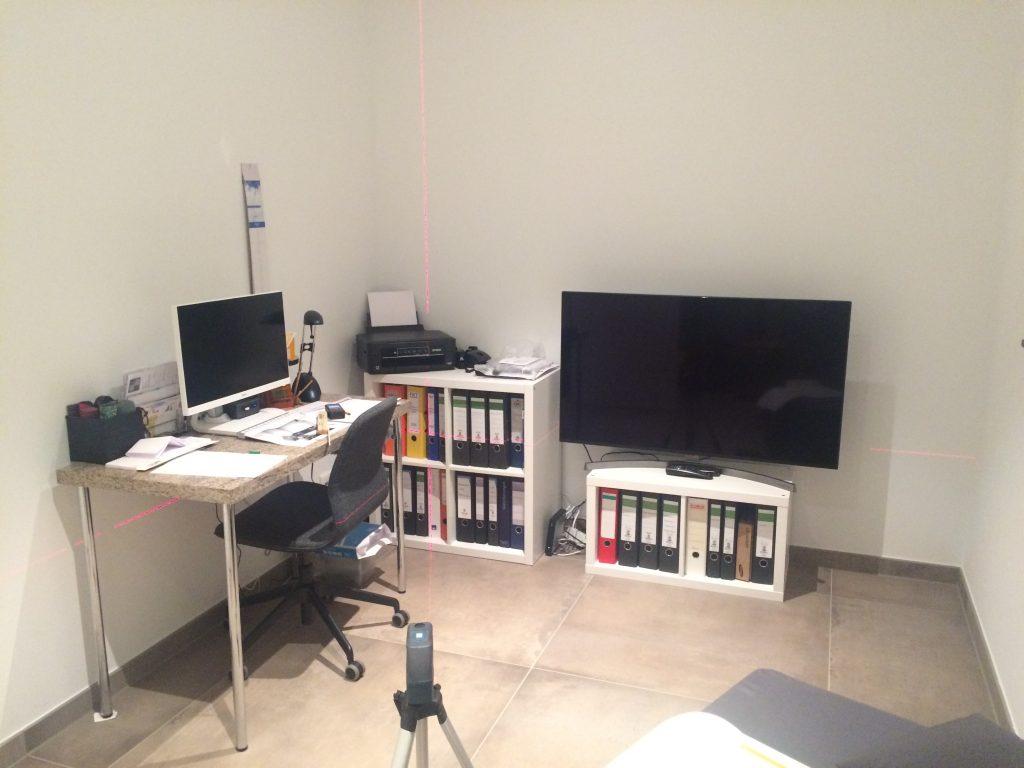 Arbeitszimmer vorher