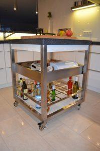 Küchenwagen aus der Tischlerei