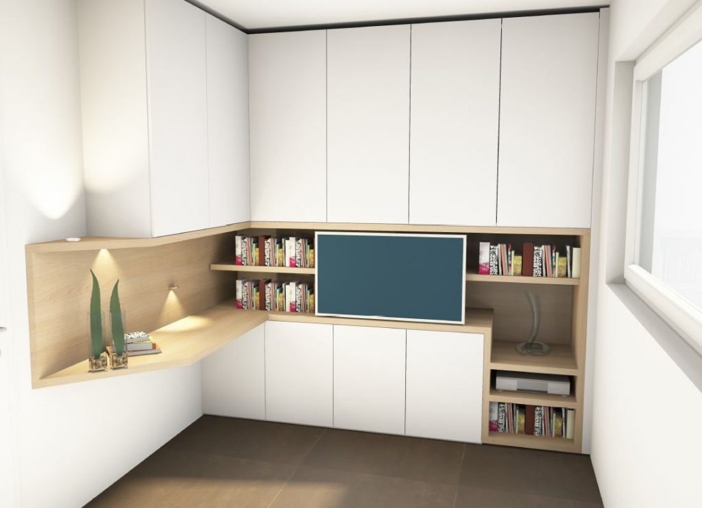 Entwurf Arbeitszimmer