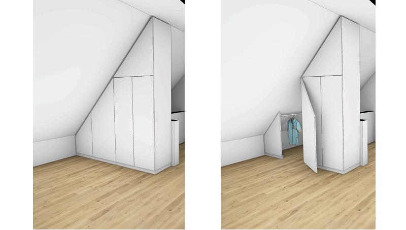 Entwurf Dachgeschoss