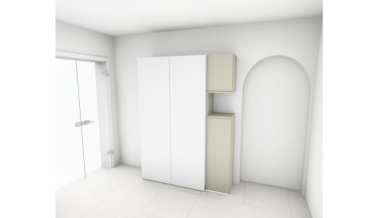 Entwurf Garderobe