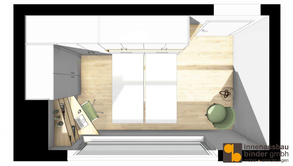 Entwurf Schrankbett Belitec