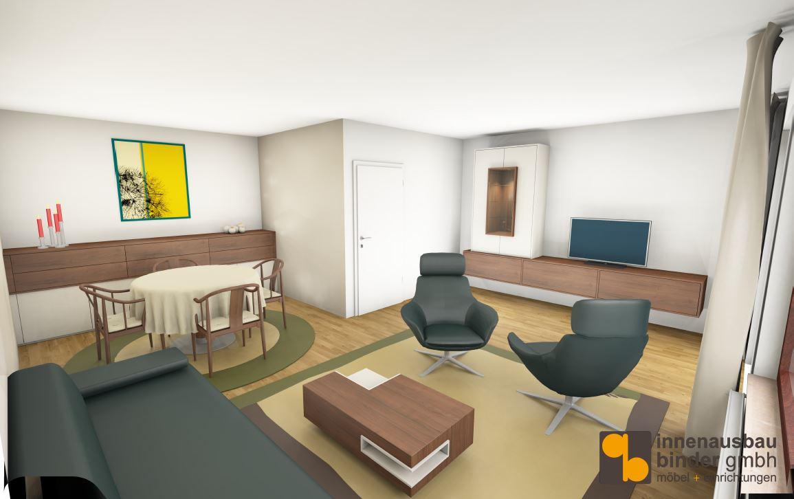 Entwurf Wohnzimmer