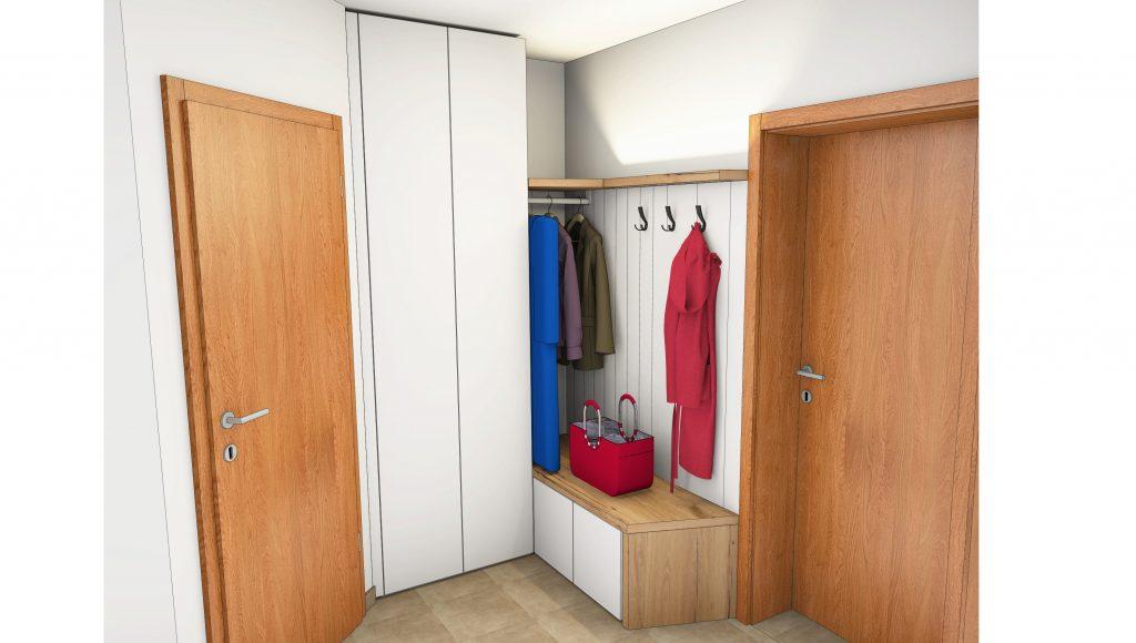 Garderobe als Entwurf