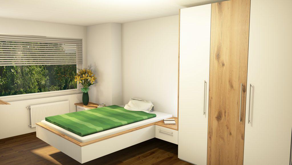 Schlafzimmer einrichten Visualisierung