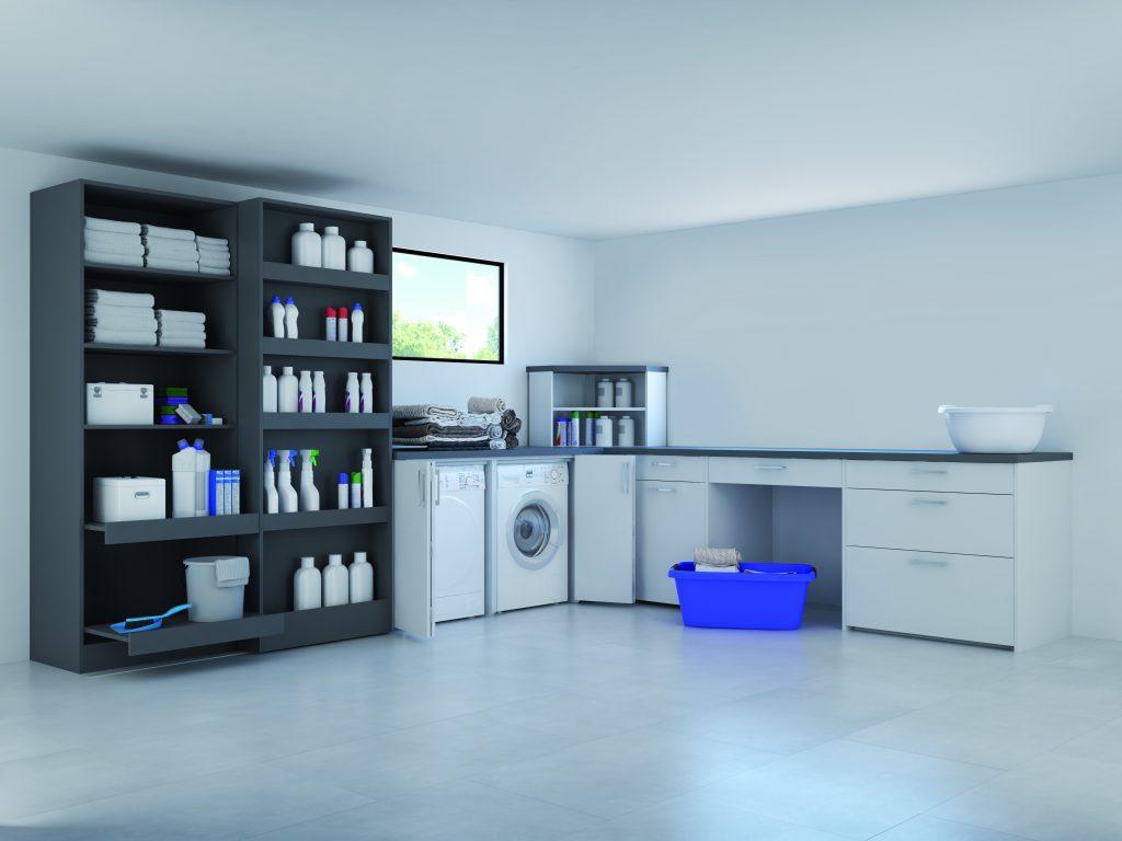 Waschraum, Hauswirschaft
